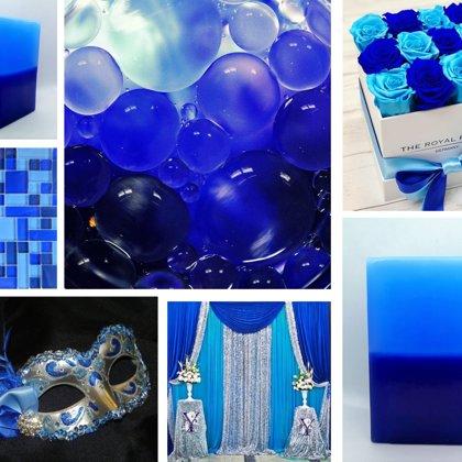 Tirkīzs un karaliski zils